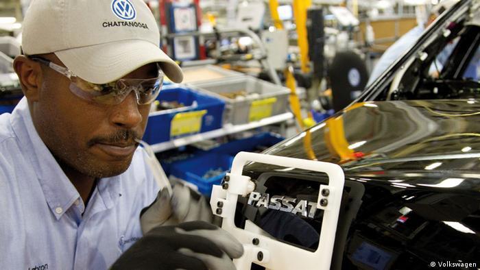 Arbeiter im VW-Werk Chattanooga (Volkswagen)