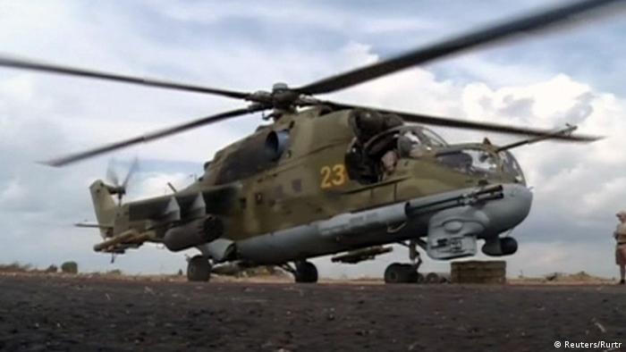 Syrien - Russische Soldaten unterstützen Assad