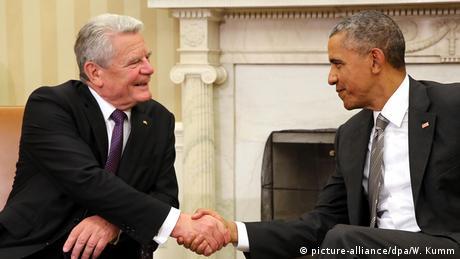 USA Washington Besuch Joachim Gauck und Obama