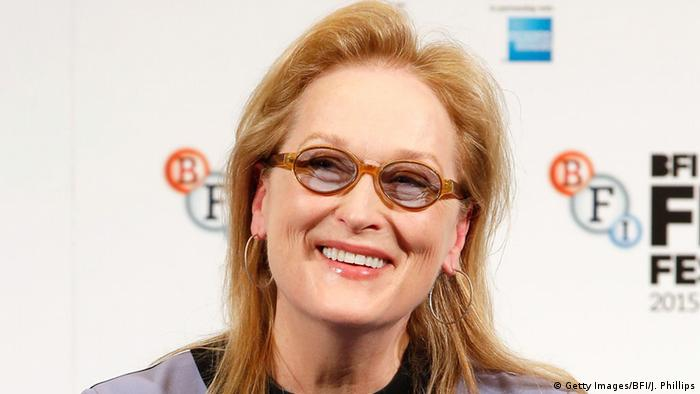 Meryl Streep, Copyright: Getty Images/BFI/J. Phillips