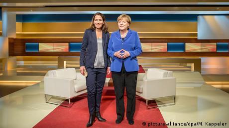 Fernsehen - Angela Merkel bei Anne Will