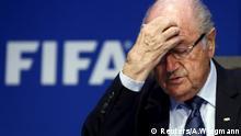 Sepp Blatter FIFA Fußball PK Archiv