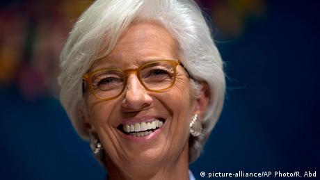 Peru IMF Chefin Christine Lagarde in Lima