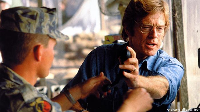 Filmstill aus 'Spy Game' mit Robert Redford (Foto: picture-alliance/DPA)