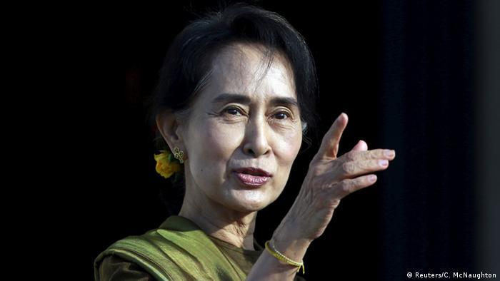 Myanmar Wahlkampf Aung San Suu Kyi