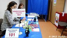 Weißrussland Minsk Präsidentschaftswahl