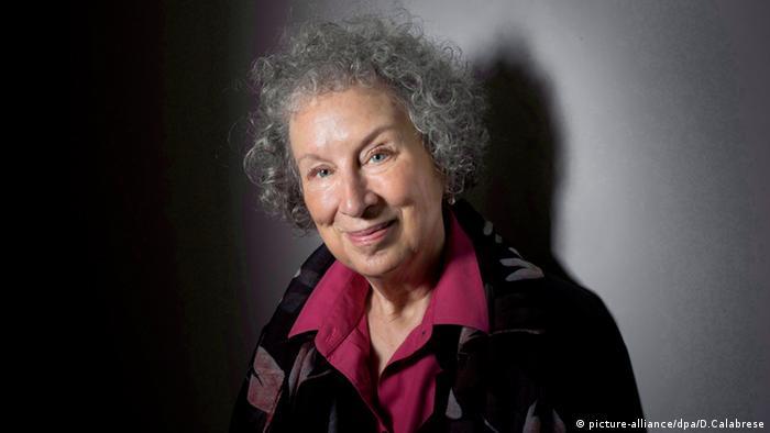 Margaret Atwood Porträt Nobelpreis 2015 Kandidatin Schriftstellerin Autorin (picture-alliance/dpa/D.Calabrese)