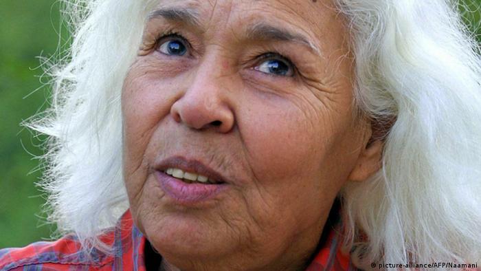 Nawal el Saadawi Porträt Nobelpreis 2015 Kandidatin Schriftstellerin Autorin
