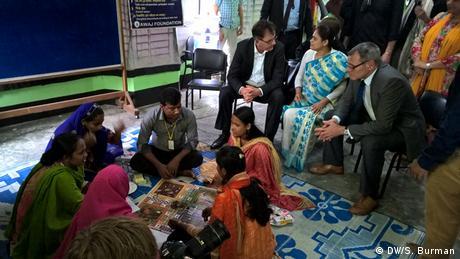 Bangladesch Deutsche Hilfe für Textilbranche