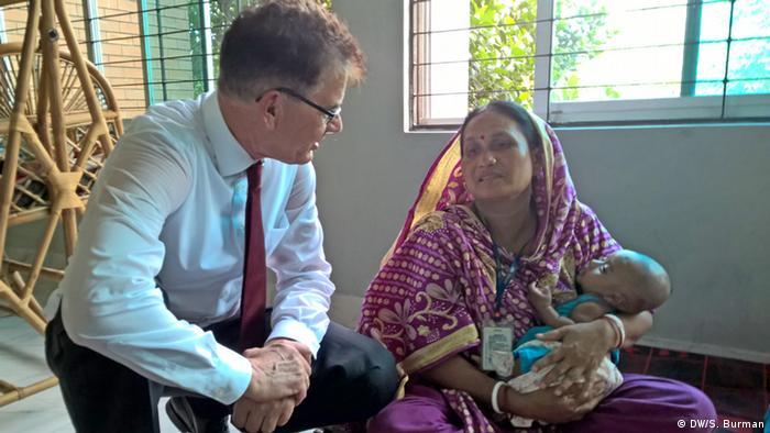 Bangladesch Deutsche Hilfe für Textilbranche Gerd Müller
