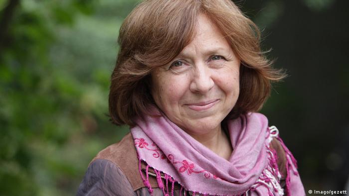 Світлана Алексієвич, лауреатка Нобелівської премії з літератури