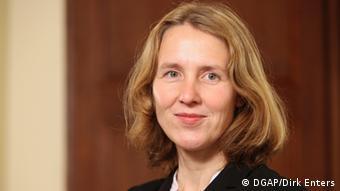Claudia Schmucker von der Deutschen Gesellschaft für Auswärtige Politik DGAP (DGAP/Dirk Enters)