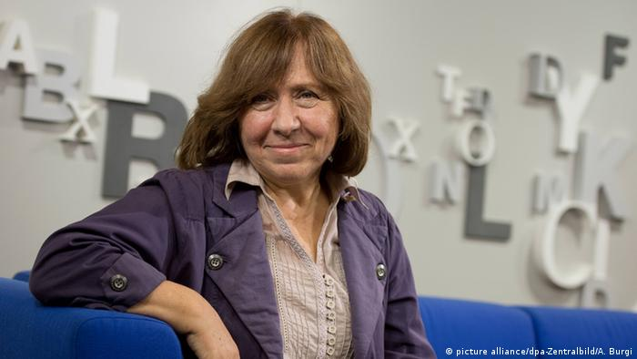 Svetlana Alexievich, Copyright: picture-alliance, dpa, A. Burdi