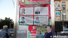 Weißrussland Wahlkampf Präsidentenwahl