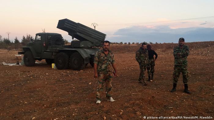 Syrien Bodenoffensive ARCHIV