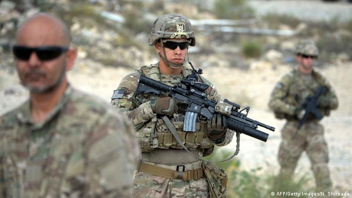 US-Soldaten in Afghanistan (AFP/Getty Images/N. Shirzada)