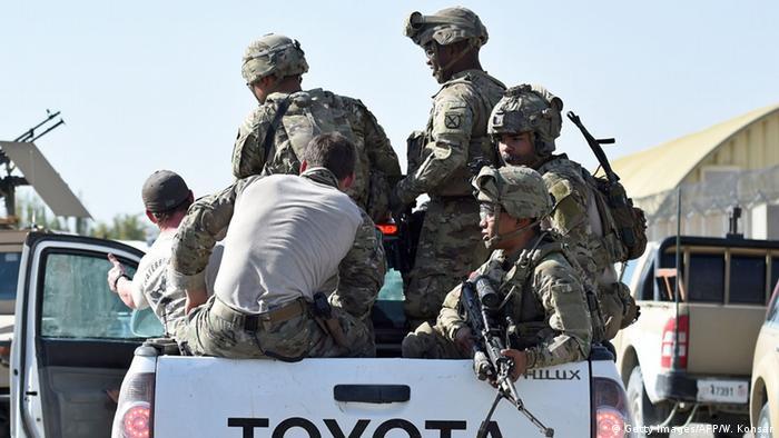 Американские солдаты в Кундузе