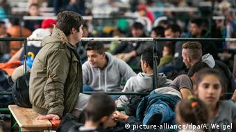 Deutschland Erstregistrierungsstelle für Flüchtlinge in Passau