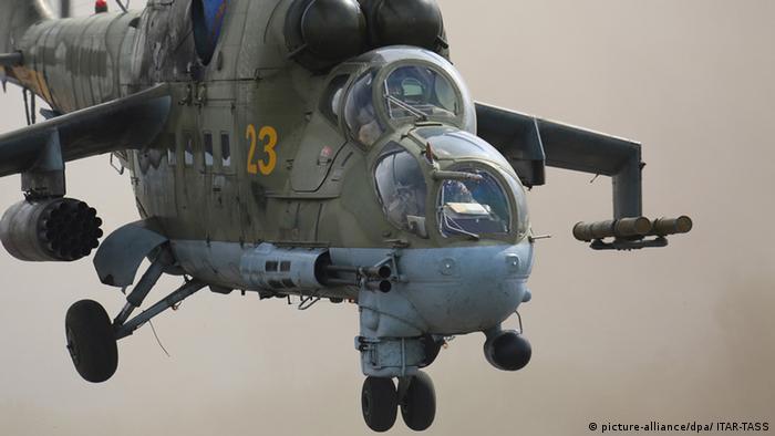 Російський ударний вертольот Мі-24 (архівне фото)