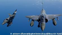 Syrien Frankreich Luftschläge