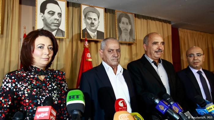 Tunesien Friedensnobelpreisträger das tunesische Quartett für den nationalen Dialog (Reuters/A. Mili)