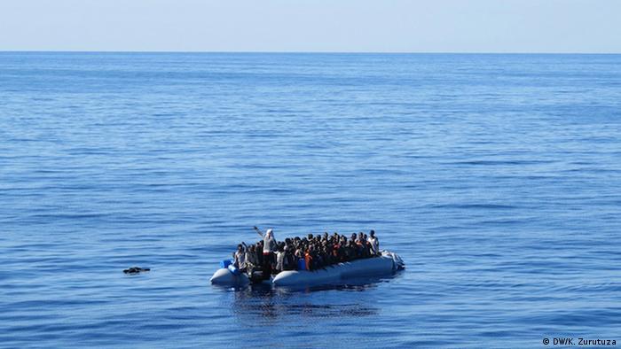 Rettungsaktion von Ärzte ohne Grenzen Mittelmeer