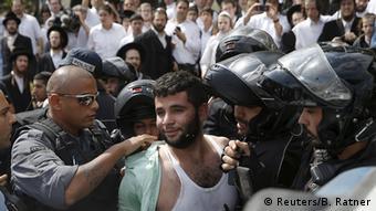 Израильская полиция арестовывает подозреваемого в терроризме