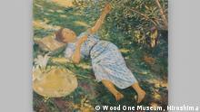 ***ACHTUNG: Bild nur zur Berichterstattung über die Ausstellung Japans Liebe zum Impressionismus in der Bundeskunsthalle verwenden!!!*** Seiki Kuroda Ausruhen unter einem Baum 1898 Öl auf Leinwand © Wood One Museum, Hiroshima