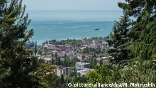 28.5.2014 *** 2440443 05/30/2014 Panorama of central Sukhumi and the sea shore. Mihail Mokrushin/RIA Novosti