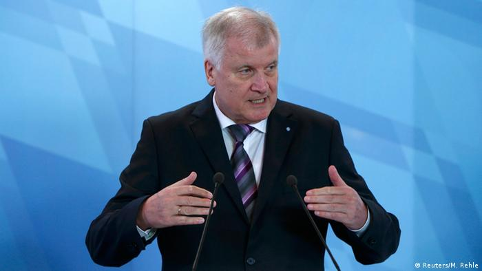 Bavarian Premier and CDU chief Horst Seehofer