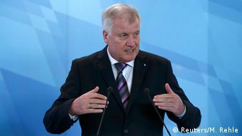 Deutschland Bayern Ministerpräsident Horst Seehofer