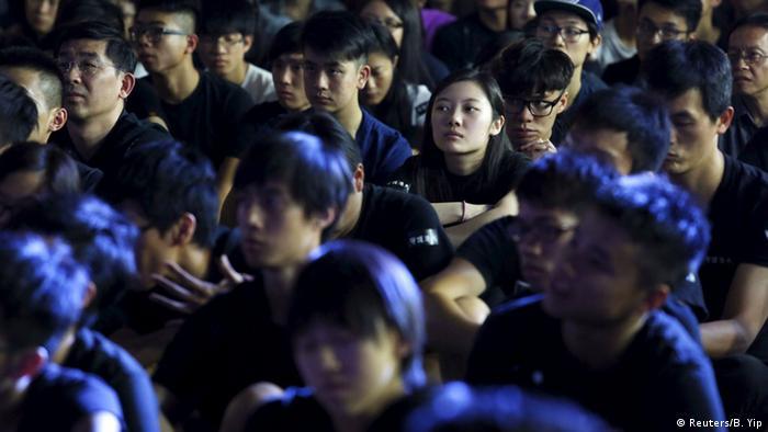China, Proteste in Hong Kong (Reuters/B. Yip)