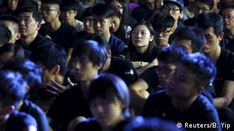 China, Proteste in Hong Kong