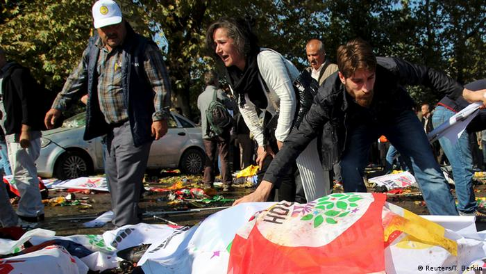 Mindestens 20 Tote bei Explosionen in Ankara (Reuters/T. Berkin)