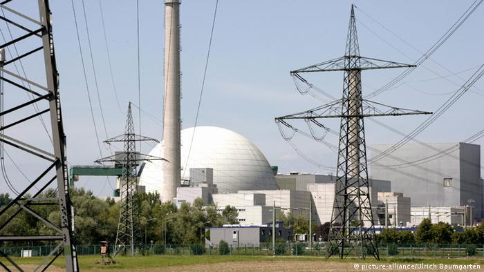 Atomkraftwerk Philippsburg (picture-alliance/Ulrich Baumgarten)