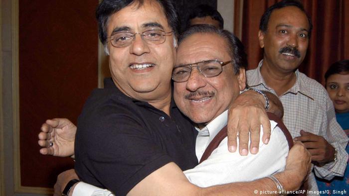 Indien Sänger Jagjit Singh & Ghulam Ali aus Pakistan