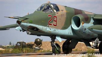 Российский Су-25СМ в Сирии