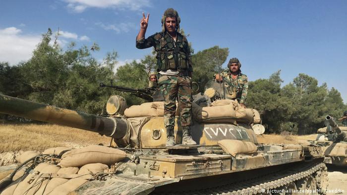 Syrien Provinz Hama syrisches Militär