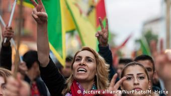 Kurdish demo in Berlin