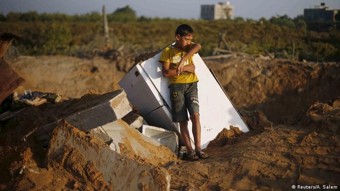 Gaza Bombenangriff Israel Palästina Konflikt