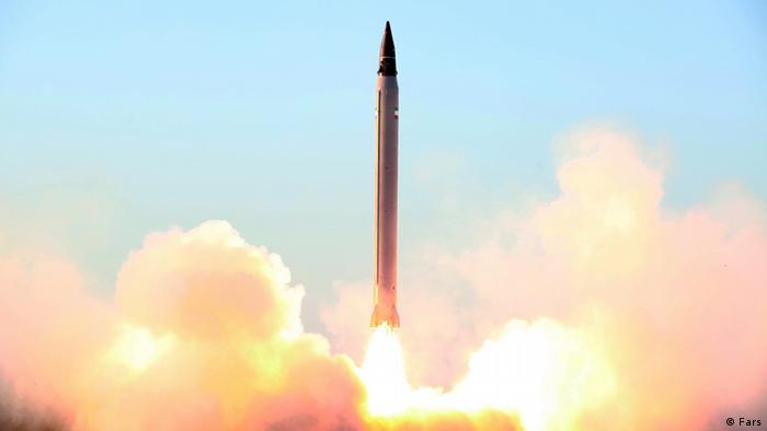 Iranische Emad Rakete