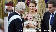 Schweden Taufe von Prinz Nicolas