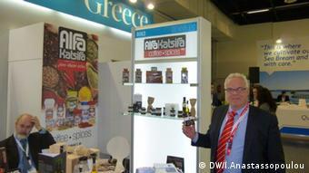 Ο κ. Σάββας Ανδρεάδης είναι υπερήφανος για τα προϊόντα της Μάνης