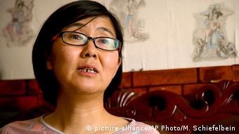 China Anwältin Wang Yu