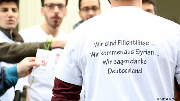 Danke Deutschland Arabische Redaktion