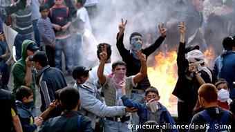 Διαδηλώσεις Κούρδων στην Κωνσταντινούπολη