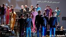 5. Die Oper Zaide, die in Zusammenarbeit von Künstlern aus Afghanistan, Deutschland, dem Irak, Nigeria und Syrien auf die Beine gestellt wird. Augsburg Autor: A.T. Schaefer.