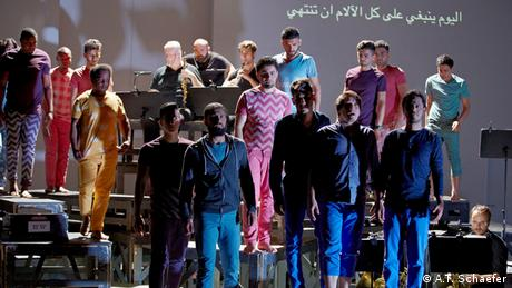 Kunst für Flüchtlinge Oper Zaide (A.T. Schaefer)
