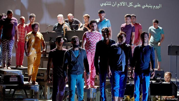 Kunst für Flüchtlinge Oper Zaide