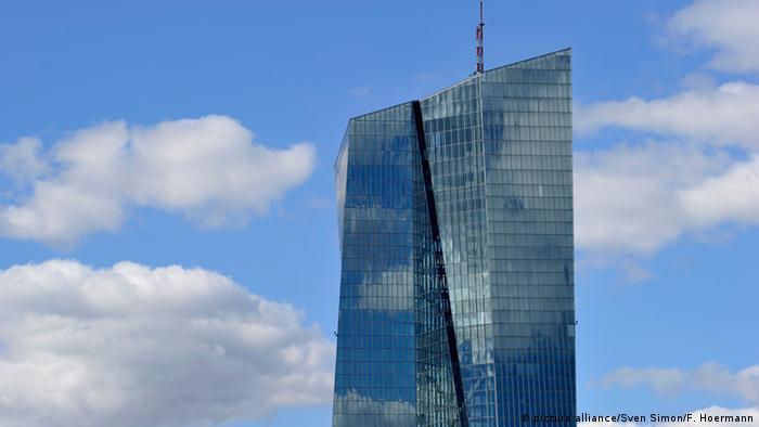 Deutschland Europäische Zentralbank in Frankfurt am Main
